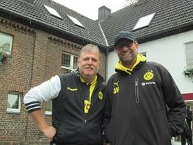 Jürgen und ich 2013