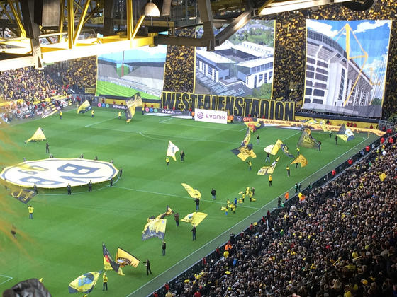 Choreo WS BVB-FCB Ostern 2015